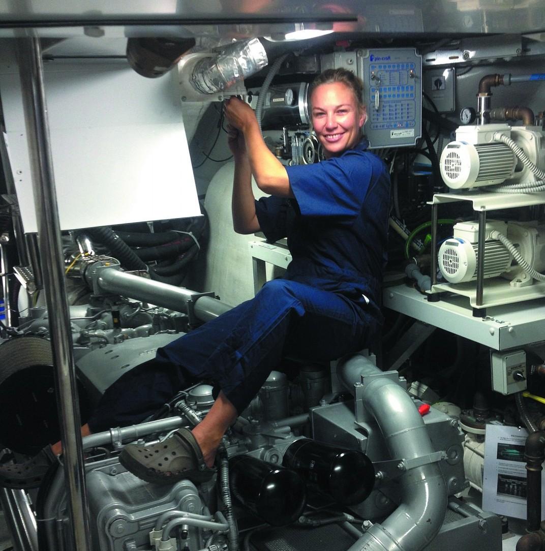 Engineer Melissa van der Walt