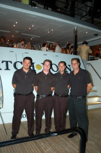 Crew shine at International Yacht Collection's yacht hop