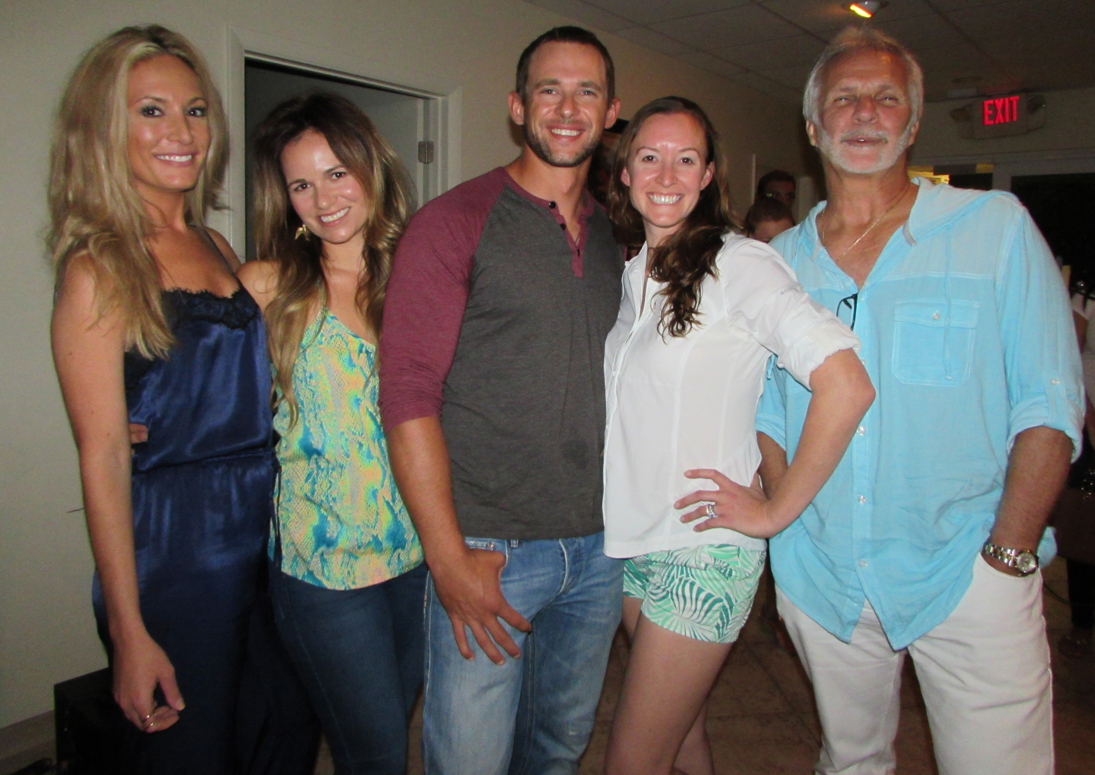 Some of the cast of 'Below Deck' in September in Ft. Lauderdale. PHOTO DORIE COX