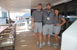 Yacht makes world debut at Fort Lauderdale International Boat Show