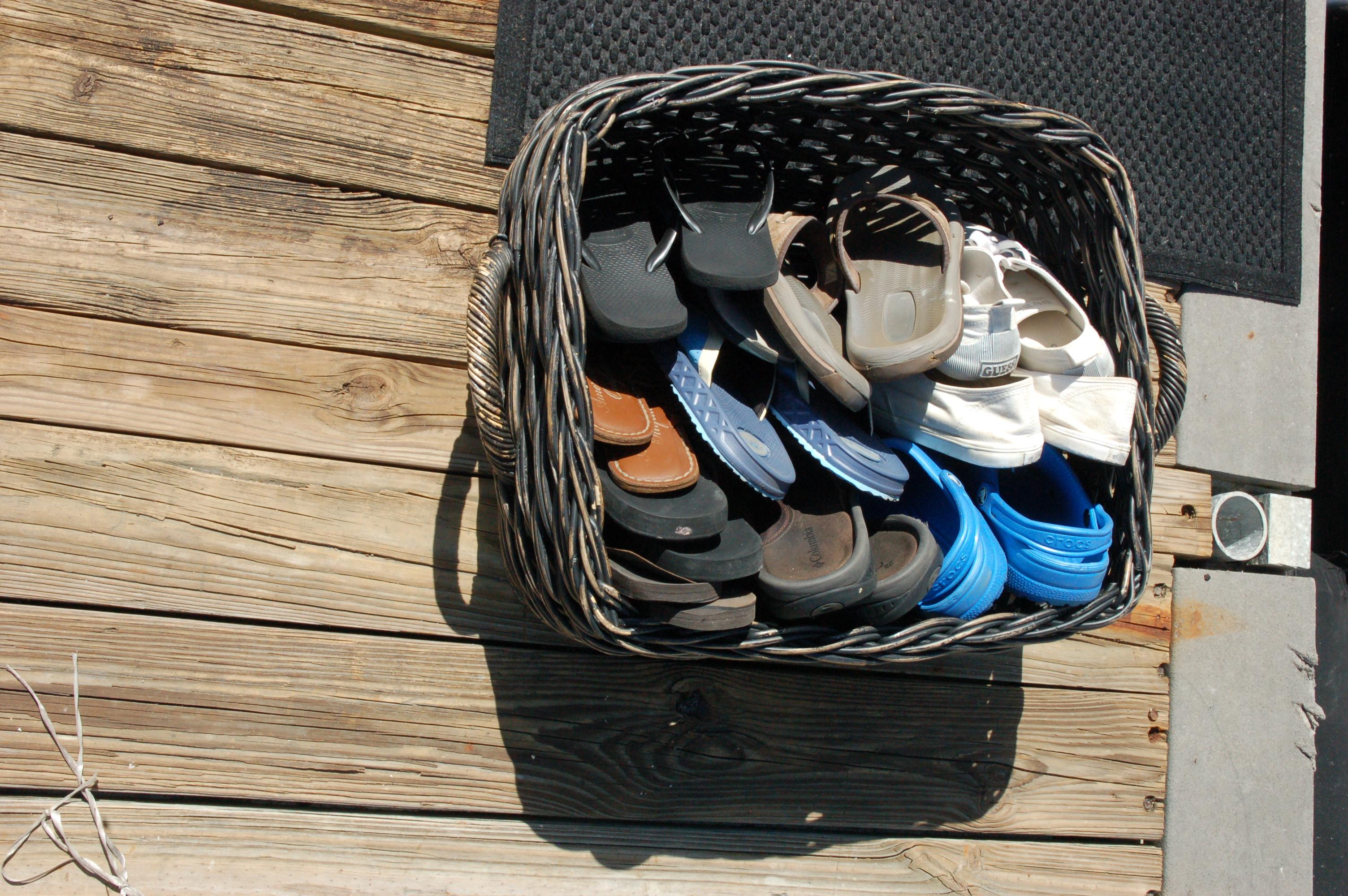 DAY 1 prep docks (shoes)
