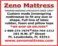 Zeno Mattress 200x160 FLIBS 2014