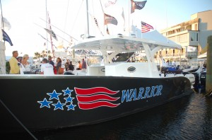 Blue Water Warriors christened