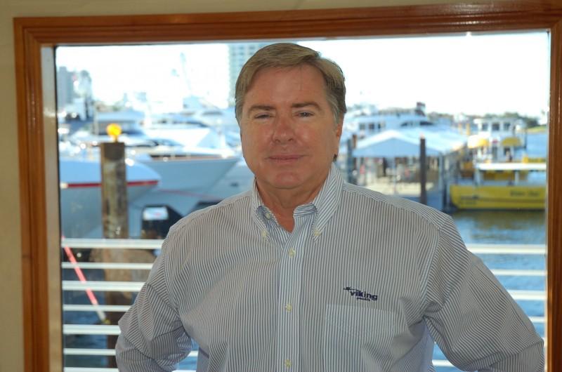 Viking Yachts CEO Pat Healey