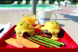 Culinary Waves: Elevate the usual continental buffet to a breakfast of champions