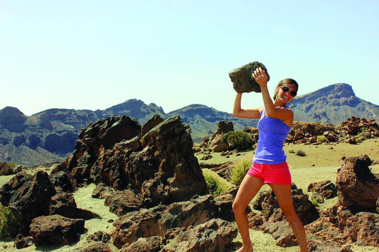 A2 tease Tenerife Rock