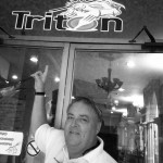 Capt. John Wampler made his 14th Panama Canal transit delivering a 1968 Burger 64-foot motoryacht from the Pacific Ocean to Key West. He spotted The Triton Restaurant in the Hotel Washington when he stopped in Colon, Panama.