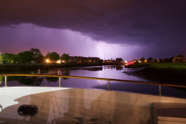 Lightning: The formation and risk to swimmers