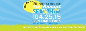 The 7th Annual Spin-A-Thon is Saturday, April 25th at Esplanade Park in Downtown Fort Lauderdale.  Registration and Check-In opens at 9:00am
