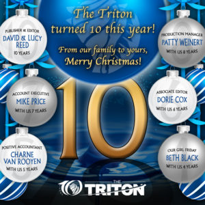 Happy Holidays from The Triton