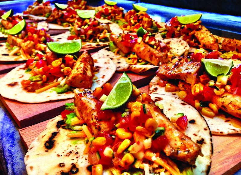 Grouper tacos by Mark Godbeer