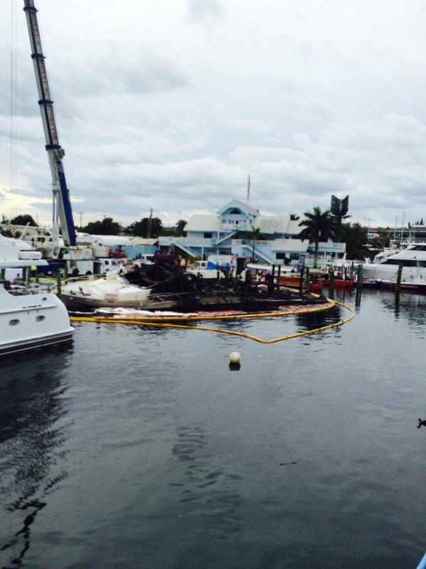 Fire New River marina Capt. Oliver DissmanIMG_2436
