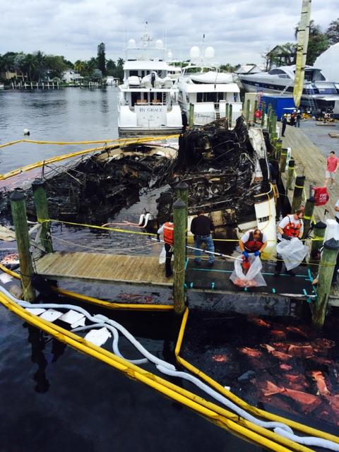 Fire New River marina Capt. Oliver DissmanIMG_6177
