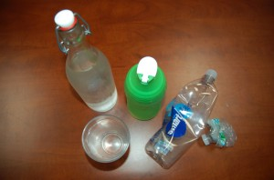 Triton Survey: Plastic water bottles