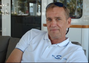 Capt. Rick Kemper of the 42m Kingship M/Y Star