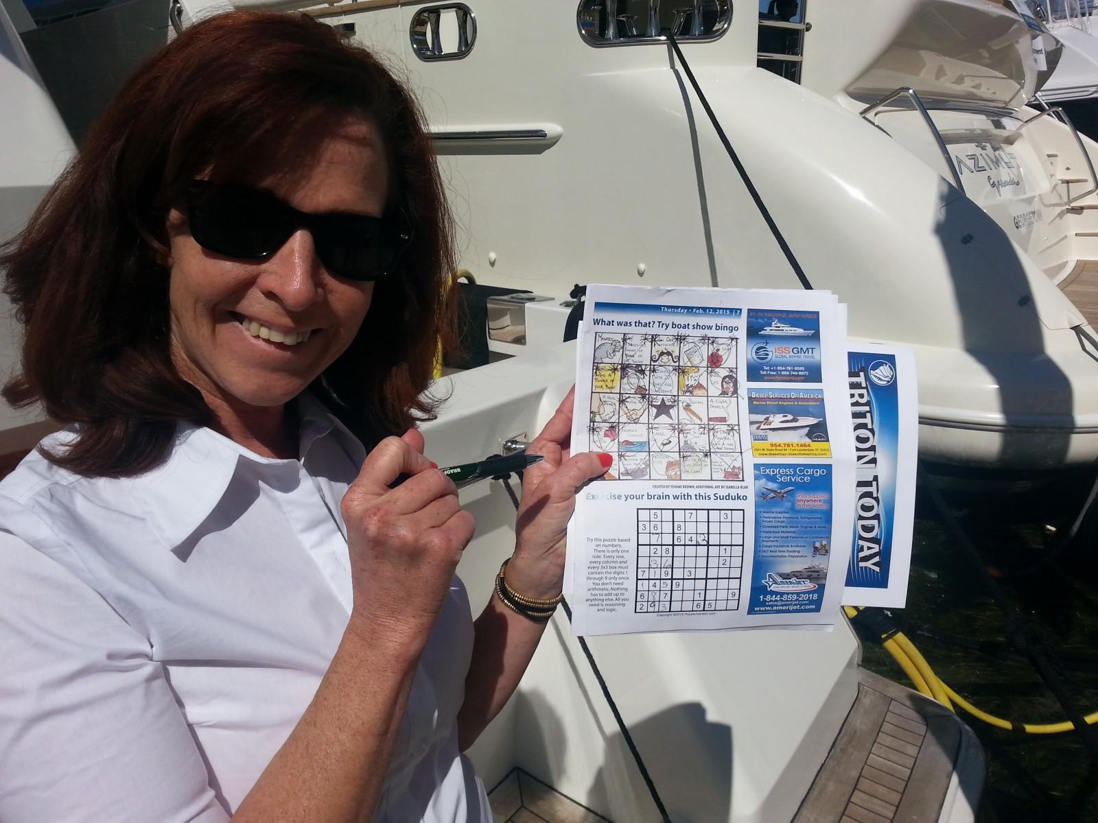 SPOTTER boat show bingo