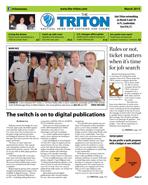 Triton March 2015 cover