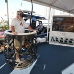 Dominator Yachts has developed its Ilumen Virtual Reality system. Photo from Tom Serio