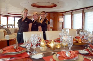 Yacht stews shine with Top Notch Tabletop settings