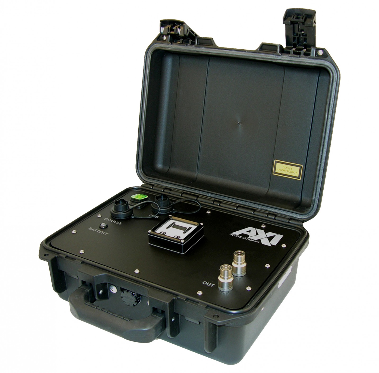 Fuel sampling can be done with a portable particle counter. PHOTO FROM AXI INTERNATIONAL