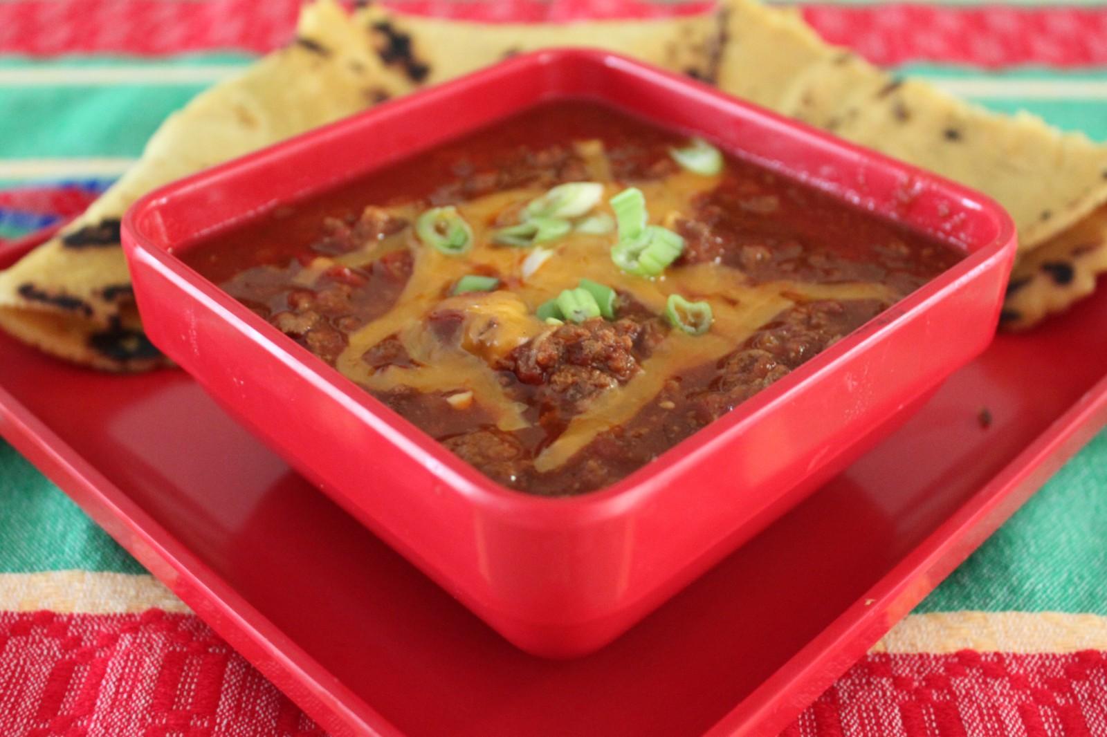 Texas Easy Slow-Cook Chili