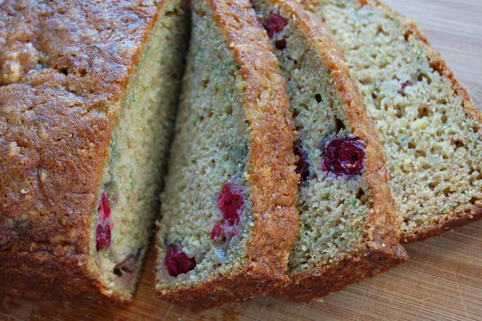 Einkorn Zucchini Bread. PHOTO FROM JOVIAL FOODS AND THE WHOLE GRAINS COUNCIL