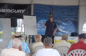 The IGFA School of Sportfishing hosts  seminars on topics ranging from sailfish strategies and dolphin trolling techniques to tuna tactics and live bait lessons.