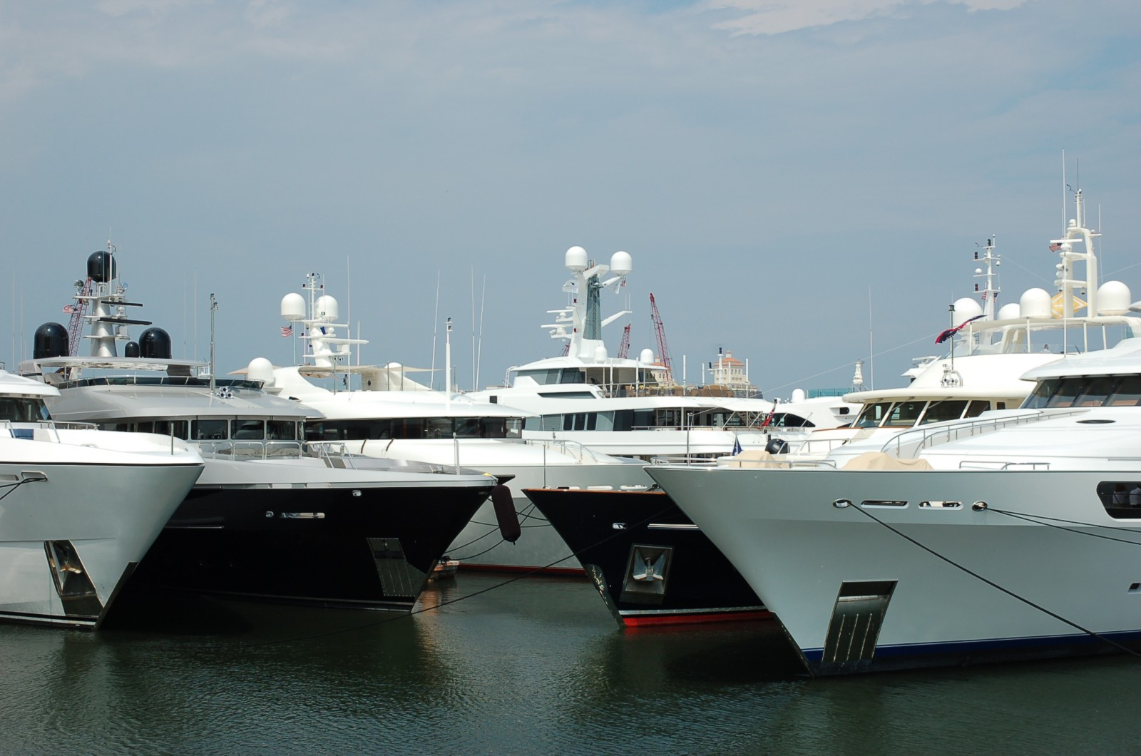 Palm Beach International Boat Show. Photo by Lucy Reed