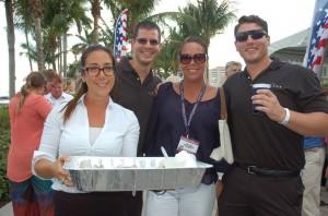 U.S. Superyacht Association networking opening day Palm Beach Show