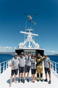Big yachts help little islands after Cyclone Pam in Vanuatu