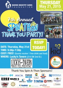 Spinathon thank you party