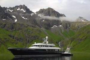 Capt. John Crupi and the crew of M/Y Dorothea III returned to Ft. Lauderdale in April after two years and four months making a circumnavigation of the Pacific Ocean.