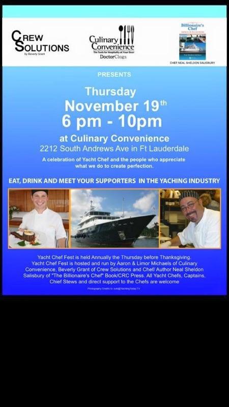Yacht Chef Fest
