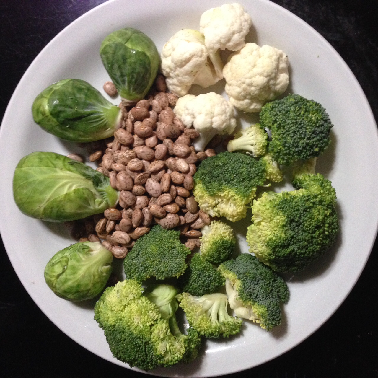 Broccoli, cauliflower, Brussel sprouts and dried cooked beans are among the foods most associated with causing excessive intestinal gas. Photo by Carol Bareuther