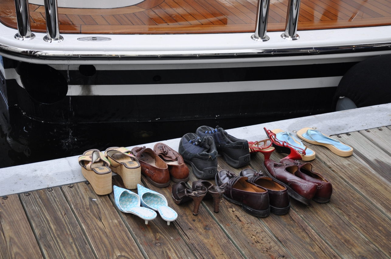 stock shoes dock