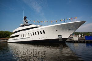 Feadship launches 57m Halo