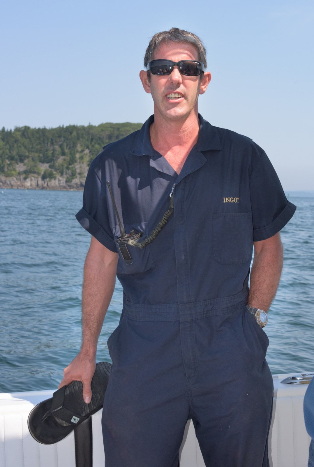 Chief Engineer Guy Dowling in Maine