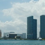 Museum Marina or the FEC slip, the seawall adjacent to AmericanAirlines Arena, is managed by Miami's Bayfront Park Management Trust. Photo by Dorie Cox