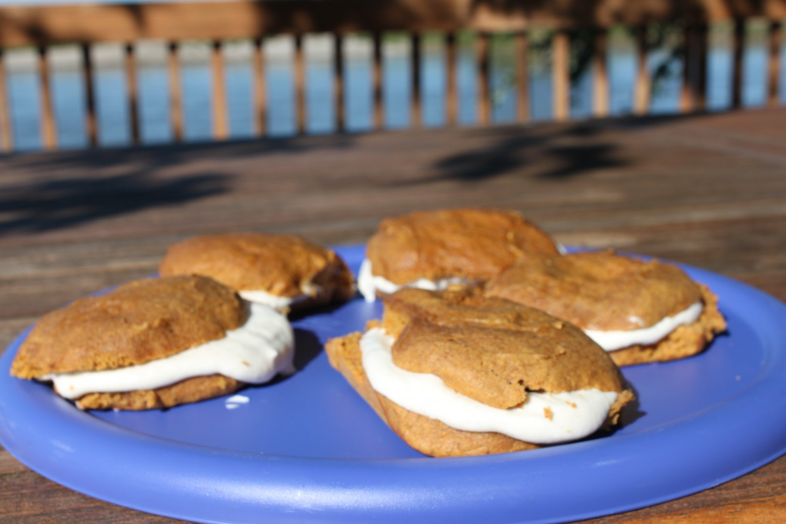 Pumpkin Spice Mini-Cakes with Cinnamon Cream Cheese Frosting by Capt. John Wampler