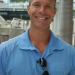 David Smyth, marina manager at Epic Marina at the mouth of the Miami River. Photo by Dorie Cox
