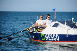 Yacht crew mates to row Atlantic in cabin-sized boat