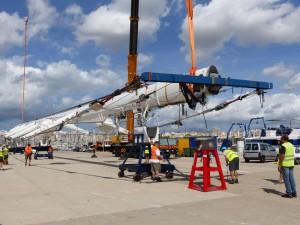 STP Shipyard Palma dismantles yacht Kokomo's 82m mast