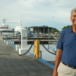 Capt. Calot Bernard at Universal Marine Center