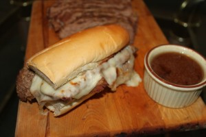 Ridiculously Simple French Dip Sandwich