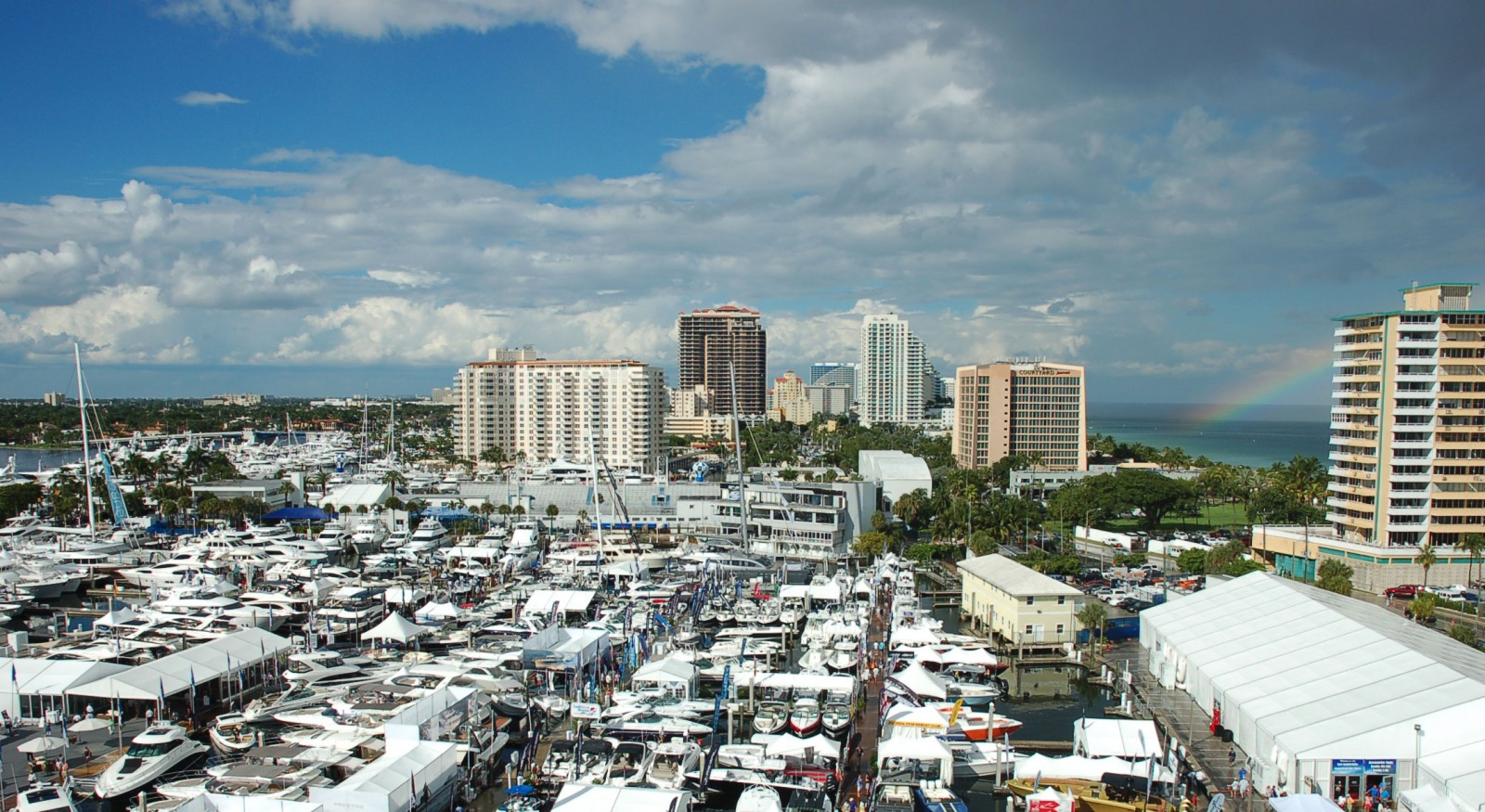 Rainbow to Fort Lauderdale International Boat Show.