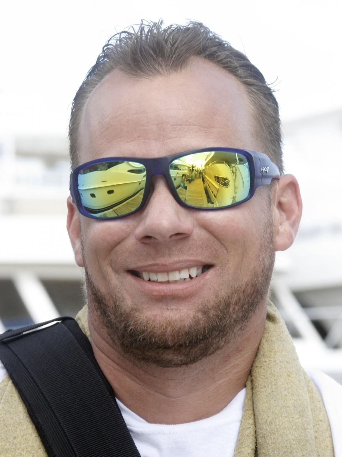 """Deckhand Richard Schwan M/Y Horizon 110' Horizon """"A modest sport fishing 80-footer."""""""