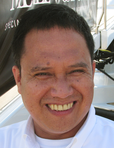 """AV/Stew Willy Ramos M/Y Apogee 205' Codecasa """"To Powell Brothers Marina and then the Caribbean."""""""