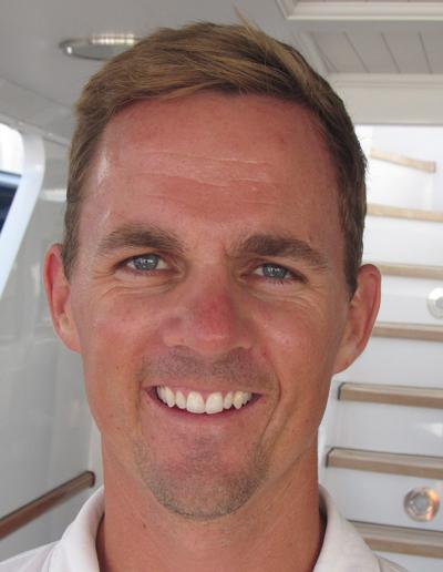 "Bosun Simon Boyd M/Y Charisma 153' Feadship ""Rybovich Shipyard for two months, then the Caribbean."""