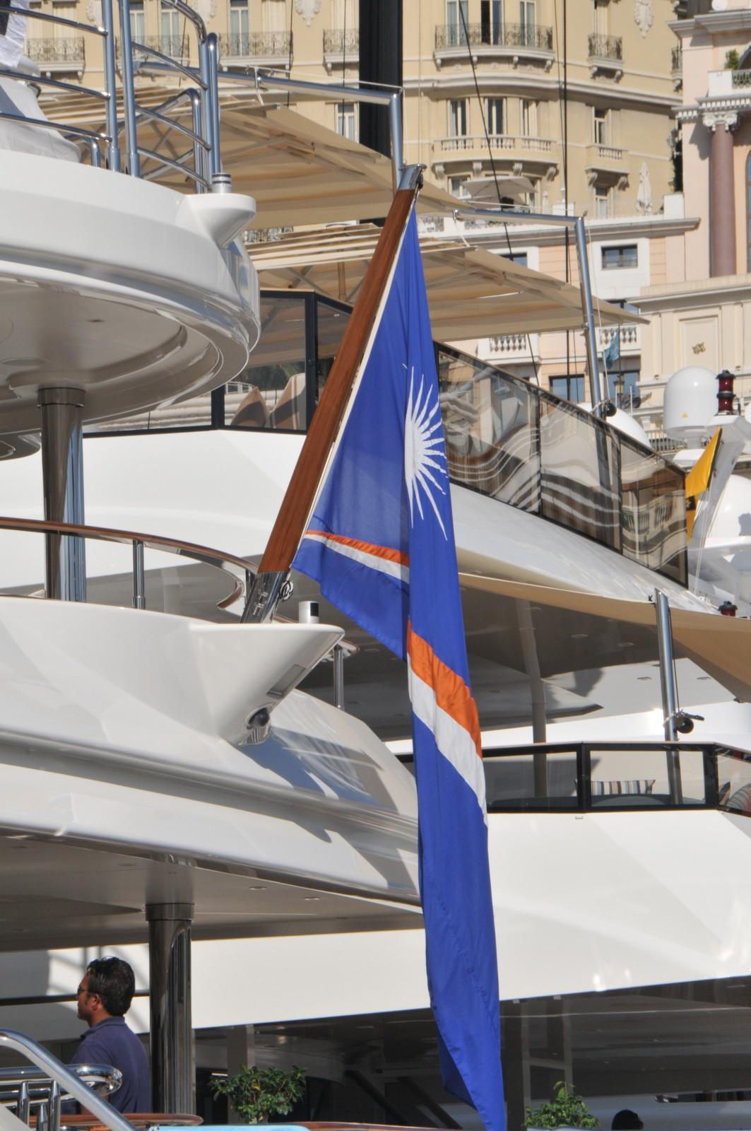 CHARTER monaco flags
