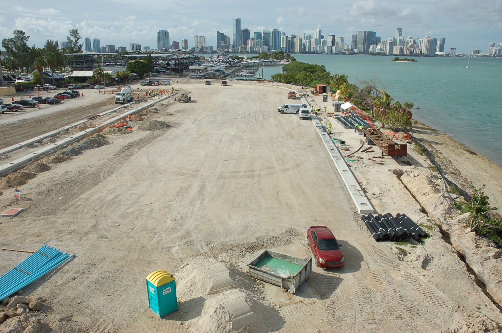 This year's 75th annual Miami International Boat Show will be held at a new location around Miami Marine Stadium, which has been closed since Hurricane Andrew in 1992. PHOTO/DORIE COX